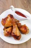 Pé de galinha cozido imagens de stock