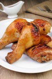 Pé de galinha cozido fotografia de stock