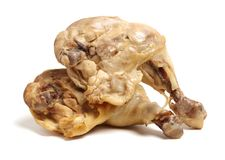 Pé de galinha cozinhado imagem de stock royalty free