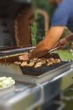 Pé de galinha grelhado Fotografia de Stock Royalty Free