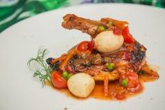 Pé de galinha Roasted Imagem de Stock