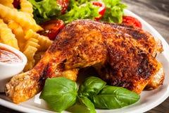 Pé de galinha Roasted Foto de Stock