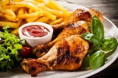 Pé de galinha Roasted Fotos de Stock Royalty Free