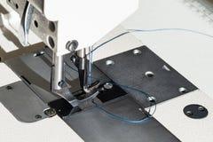 Pé de Presser da máquina de costura industrial imagem de stock