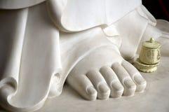 Pé direito de Buddha Imagens de Stock Royalty Free