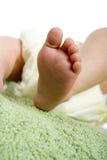 Pé do bebê Fotos de Stock Royalty Free