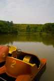 pédale de bateaux Photo libre de droits