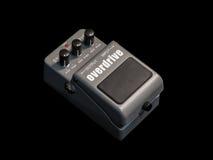 Pédale de guitare d'effets, vitesse surmultipliée images stock