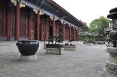 Pékin, 6ème peut : Hall de bienveillance et de longévité de cour de palais d'été dans Pékin photos stock