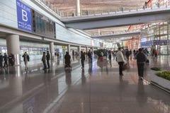 Pékin, aéroport de la Chine Image stock