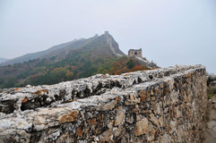 Pékin, Chine, Grande Muraille de Simatai images stock