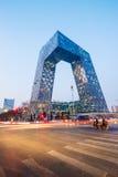 ¼ Œin Pékin de Headquartersï de la télévision centrale de Chine (télévision en circuit fermé) Photographie stock