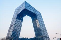 ¼ Œin Pékin de Headquartersï de la télévision centrale de Chine (télévision en circuit fermé) Images stock