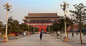 Pékin, la ville interdite images stock