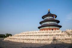 Pékin le temple du Ciel le temple du Ciel Photo libre de droits