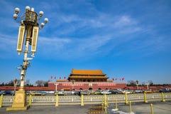 Pékin tiananmen carré Images stock