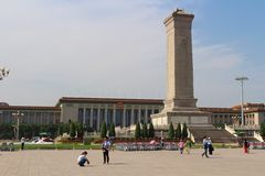 Pékin tiananmen carré Photo libre de droits