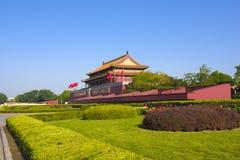 Pékin tiananmen carré Images libres de droits