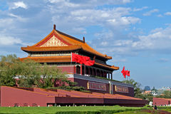 Pékin tiananmen carré Photographie stock libre de droits