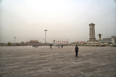 Pékin tiananmen carré Pékin, Chine Photographie stock libre de droits