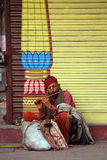 Pélerin, Jammu, Inde Image libre de droits