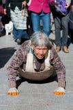 Pélerin tibétain Photos libres de droits