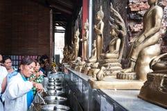 Pélerins thaïs Photos stock