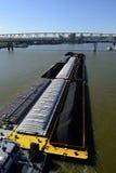 Péniche de la rivière Ohio Photos stock