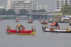 Péniche royale thaïlandaise dedans Bangkok Photos libres de droits