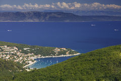 Péninsule d'Istria image stock