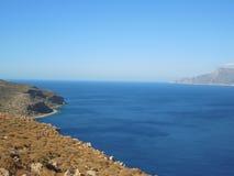 Péninsule de Balos sur l'île de Crète, Grèce Images libres de droits