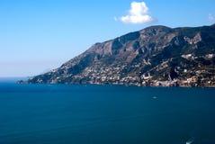 Péninsule de côte d'Amalfi Photographie stock