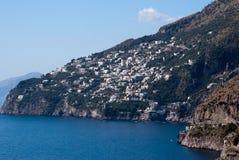 Péninsule de côte d'Amalfi Photos libres de droits