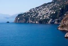 Péninsule de côte d'Amalfi Image libre de droits