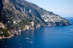Péninsule de côte d'Amalfi Photo libre de droits