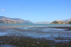Péninsule de Christchurch Photos stock