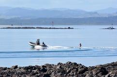 Péninsule de Karikari - Nouvelle-Zélande Image libre de droits