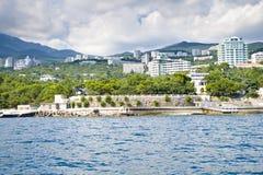 péninsule de la Crimée Images libres de droits