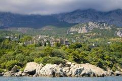 péninsule de la Crimée Photo libre de droits