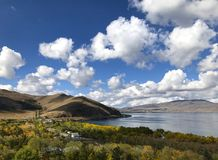 Péninsule de Sevan, Arménie Photographie stock libre de droits
