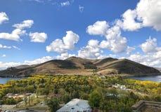Péninsule de Sevan, Arménie Image libre de droits