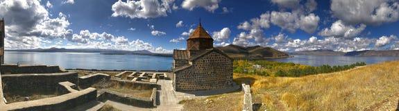 Péninsule de Sevan, Arménie Image stock