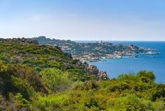 Péninsule de Testa de capo en Sardaigne photo libre de droits