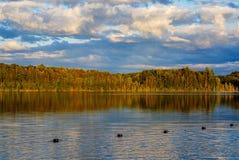 Péninsule supérieure Michigan du lac pete's photographie stock libre de droits