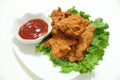 Pépite de poulet Images libres de droits