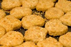 Pépites de poulet Images libres de droits