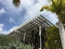Pérez Art MUSEUM, Miami, Florida. Hanging Garden with Royalty Free Stock Photography