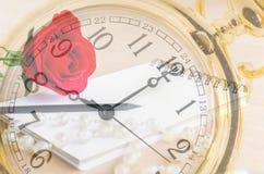 Période de concept d'amour Image stock