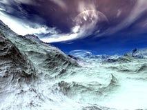 Période glaciaire Images stock