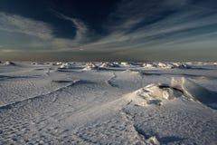 Période glaciaire. Image libre de droits